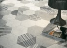 Hexatile Cement White 17,5x20