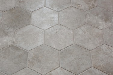 Castilla Manor Gris Hexagon 21x18,2