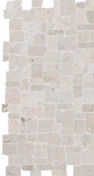 Roman White Interlocking 30x30 kivimosaiikki