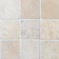 Square Marble White 10x10  luonnonkivi