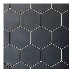 Hexagon White 175x175 porcelanico