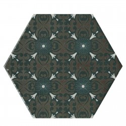 Hexagon Decor 175x175 porcelanico