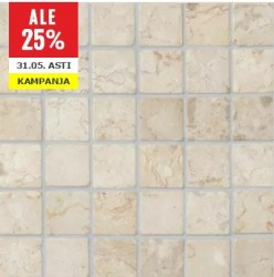 Square Marble White/Tumbled 30x30 mm (30x30) luonnonkivi verkossa