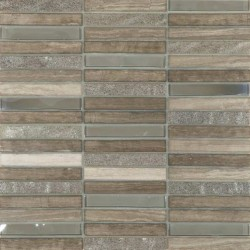 Skyline Marble Glass Mix Grey 305x305x8mm