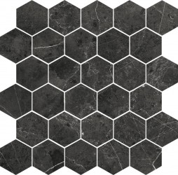 Imperiale Hexagono Black 30x30 mosaiikki