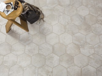 Castilla Manoir Beige Hexagon 21x18,2
