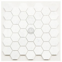 Hexagon Carrara 48x48 (305x305) luonnonkivi
