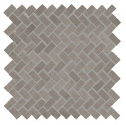 Powder Smoke Mosaic Herringbone 300x300 mm