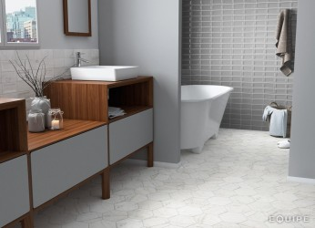 Carrara Hexagon 17,5x20 porcelanico