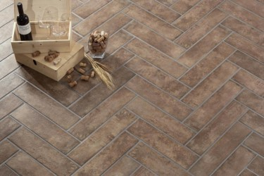Castilla Manoir Brown 12,5x50 porcelanico