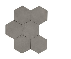 Powder Crete Hexagon 21x18,2 porcelanico