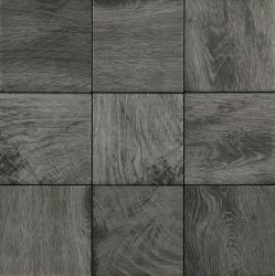 Ecotimber Ebony 10x10 Floor/Wall Tile