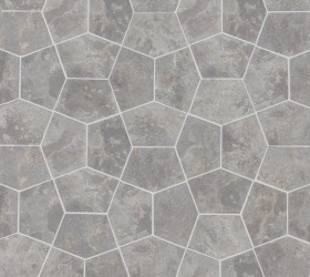 Pentagon Light Grey 150x100 mm kivimosaiikki