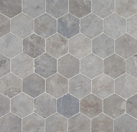 Hexagon Light Grey 6x6 (30x30) luonnonkivi verkossa
