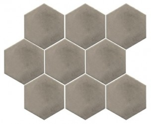 Turenne Shell hexagon 10x12 lattia/seinälaatta